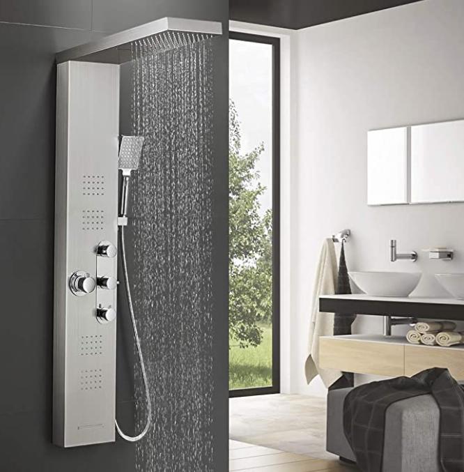 Choisir la meilleure colonne de douche
